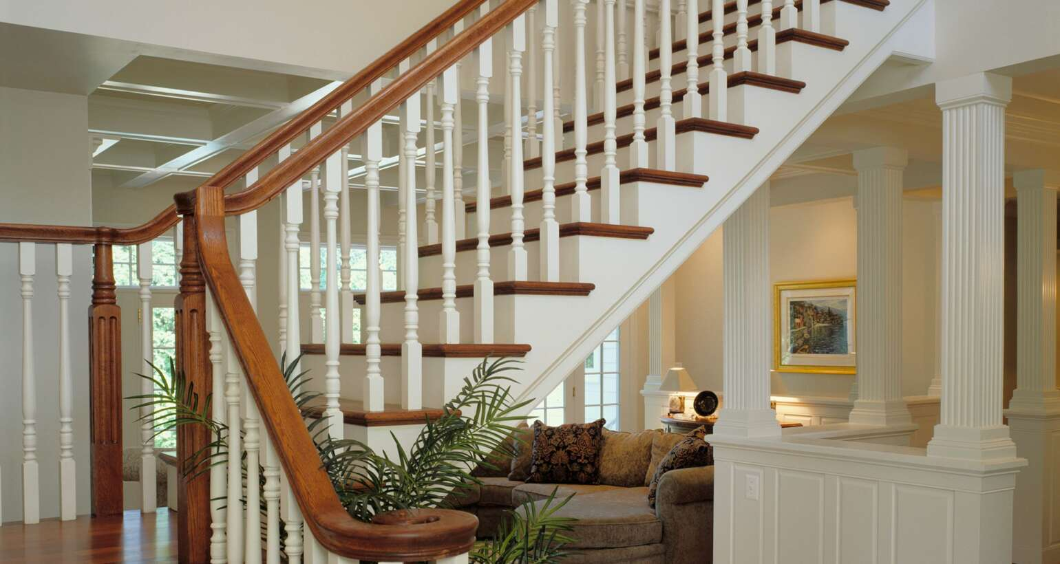 Custom Finished Stairwell