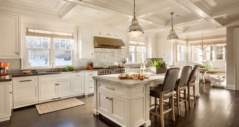 Kitchen Cabibets, Moldings, Trim, & Ceiling